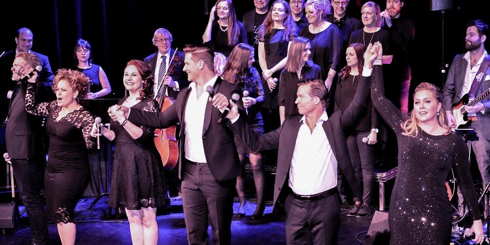 Från Broadway till Duvemåla - Cirkus, Skandiascenen - Foto: Cawa Media