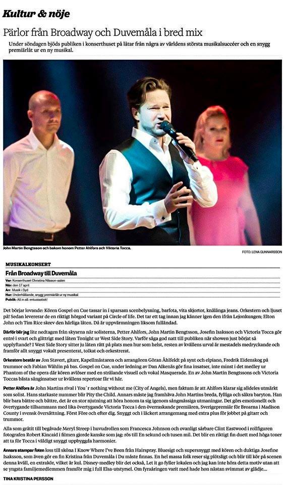 Sålandsposten recension
