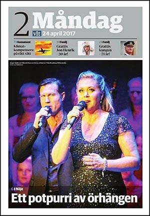 Från Broadway till Duvemåla - Vestmanlands Läns Tidning