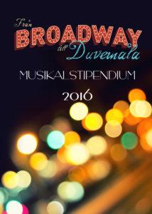 Från Broadway till Duvemåla Musikalstipendium