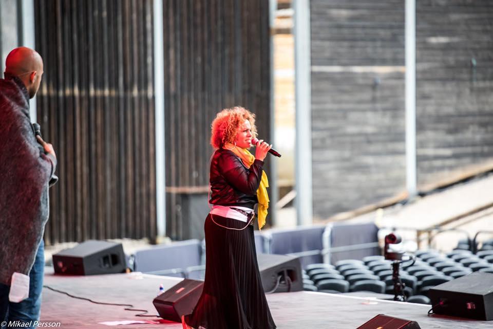 Alexander Lycke och Laila Adèle repar inför 2019 års konsert på Dalhalla.