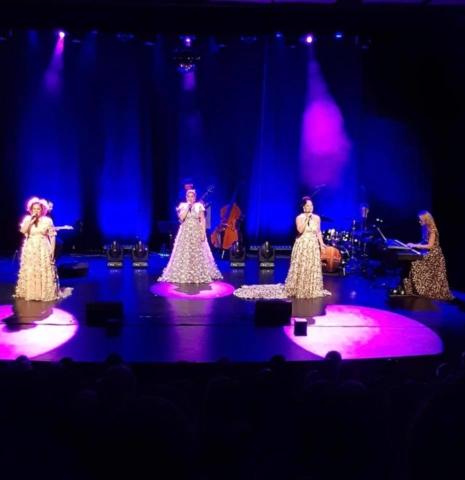 Laila Adèle, Viktoria Tocca, Malena Tuvung och Carina E Nilsson | Foto: Monica Lundqvist