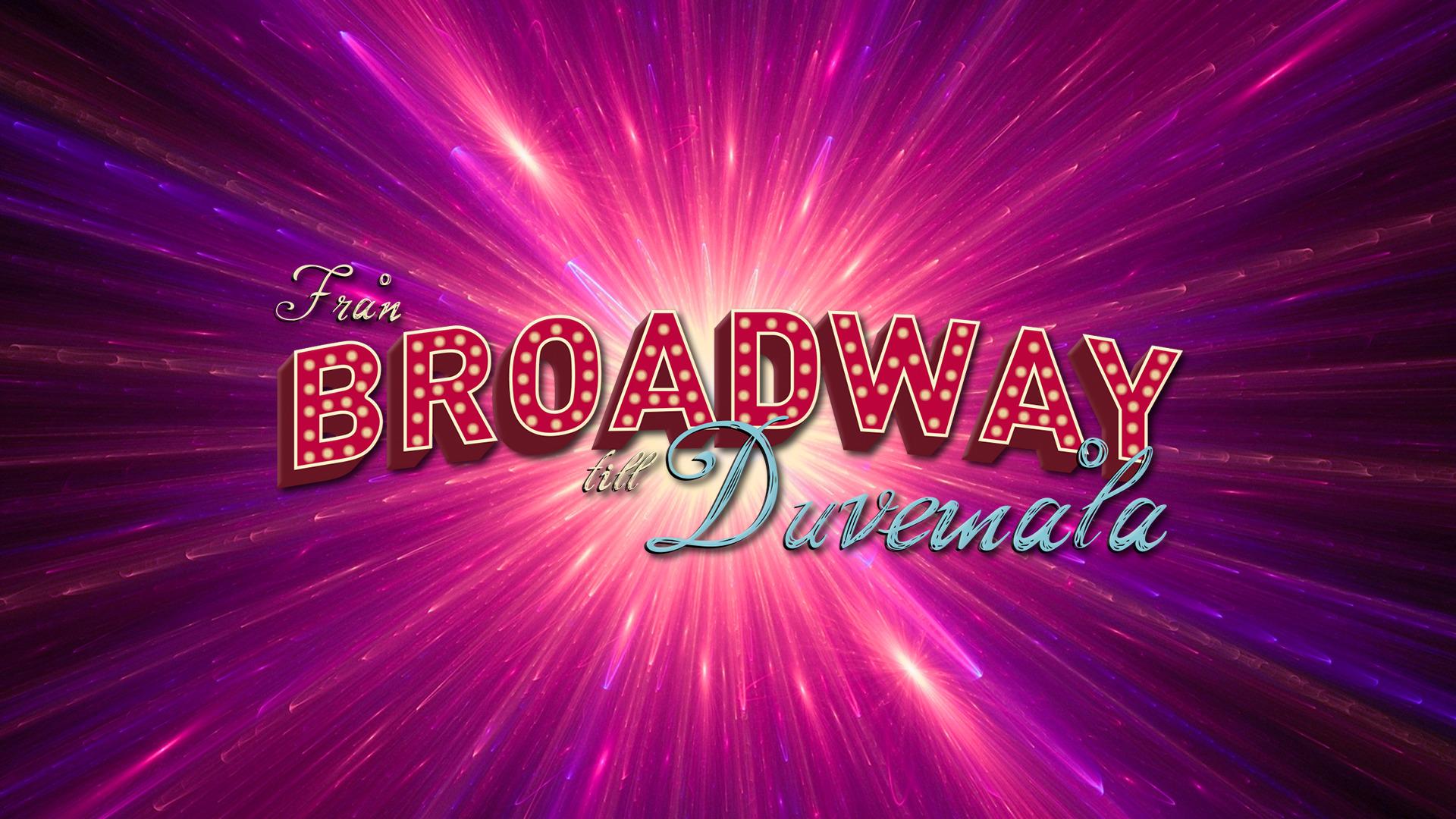 Från Broadway till Duvemåla |Grafisk profil vår 2019